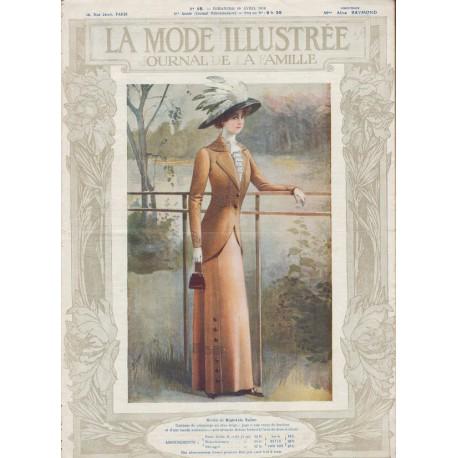 Revue La Mode Illustrée 1910 N°15