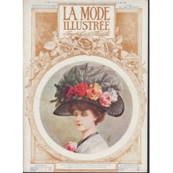 Complete magazine La Mode Illustrée 1910 N°16