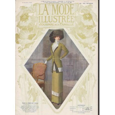 magazine La Mode Illustrée 1910 N°39