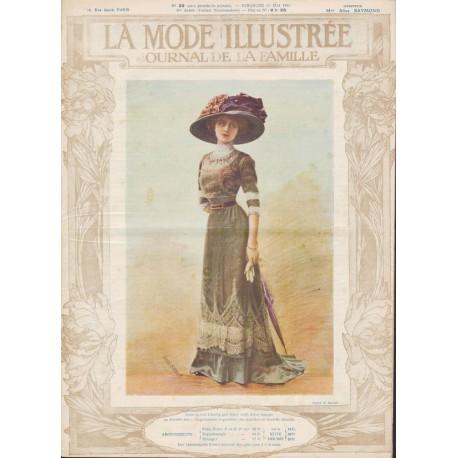 magazine La Mode Illustrée 1910 N°20