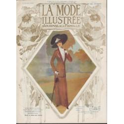 magazine La Mode Illustrée 1910 N°41