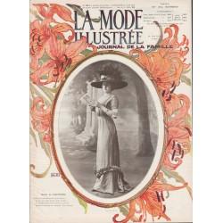 Complete magazine La Mode Illustrée 1910 N°26