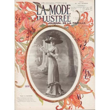 magazine La Mode Illustrée 1910 N°26