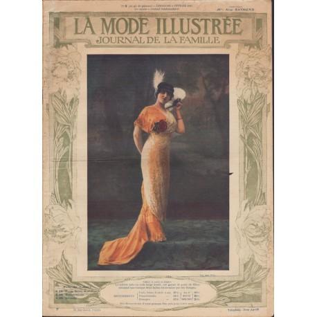 Revue La Mode Illustrée 1913 N°06