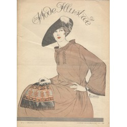 Revue complète de La Mode Illustrée 1921 N°02