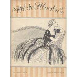 magazine La Mode Illustrée 1921 N°10