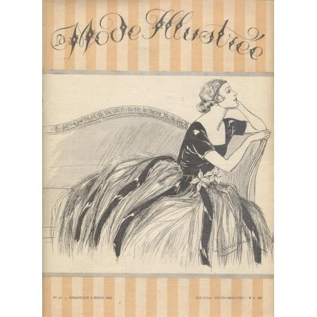Revue La Mode Illustrée 1921 N°10