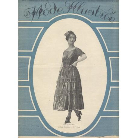 magazine La Mode Illustrée 1921 N°18