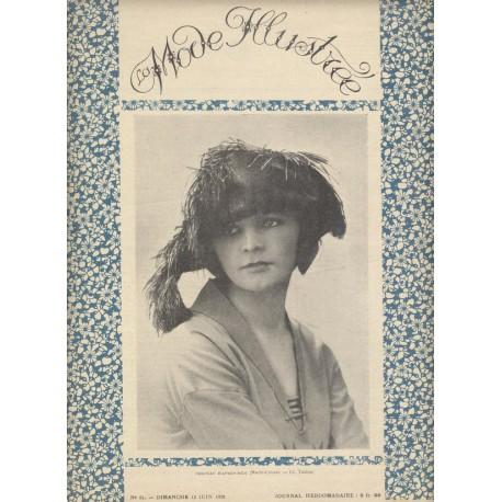 magazine La Mode Illustrée 1921 N°24