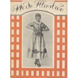 magazine La Mode Illustrée 1921 N°28