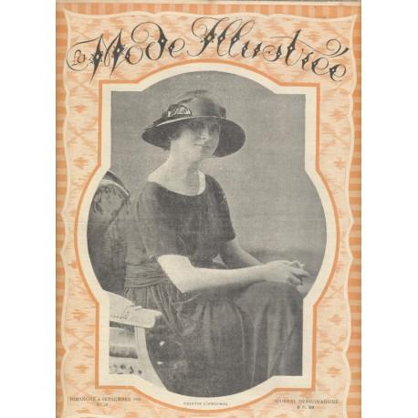 magazine La Mode Illustrée 1921 N°36