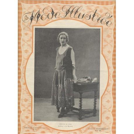 magazine La Mode Illustrée 1921 N°40