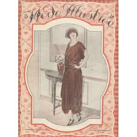 magazine La Mode Illustrée 1921 N°49