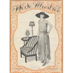 magazine La Mode Illustrée 1921 N°44