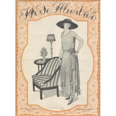 Revue La Mode Illustrée 1921 N°44