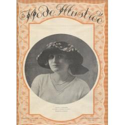 magazine La Mode Illustrée 1921 N°41