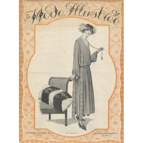 magazine La Mode Illustrée 1921 N°43