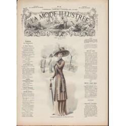 Revue La Mode Illustrée 1909 N°46