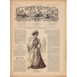 magazine La Mode Illustrée 1899 N°11
