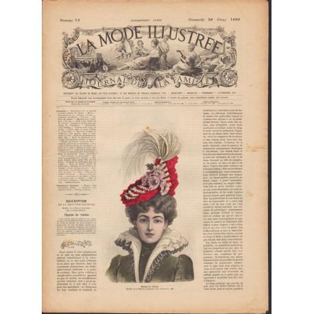 magazine La Mode Illustrée 1899 N°13