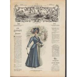 Complete magazine La Mode Illustrée 1908 N°18