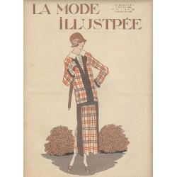 Complete magazine La Mode Illustrée 1924 N°10