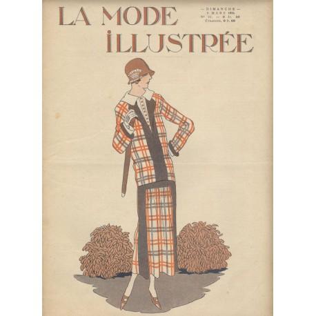 magazine La Mode Illustrée 1924 N°10