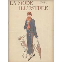 Revue La Mode Illustrée 1924 N°9