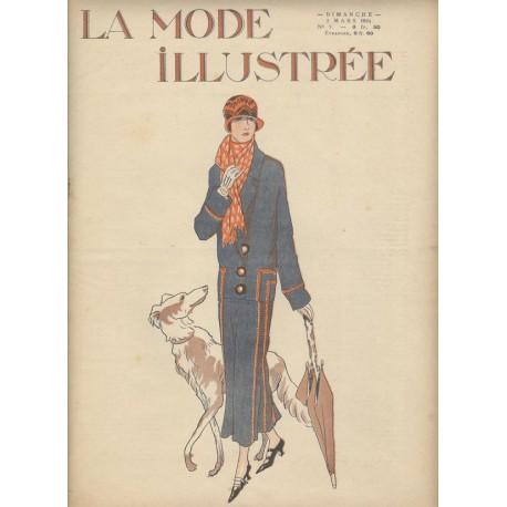 magazine La Mode Illustrée 1924 N°09