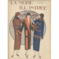 magazine La Mode Illustrée 1924 N°43