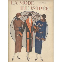 Revue La Mode Illustrée 1924 N°43