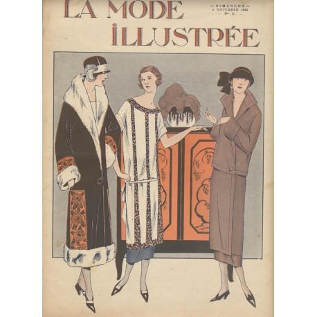 Revue La Mode Illustrée 1924 N°45