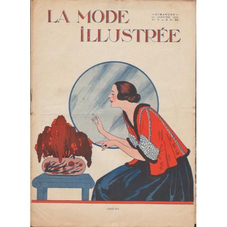 magazine La Mode Illustrée 1923 N°02