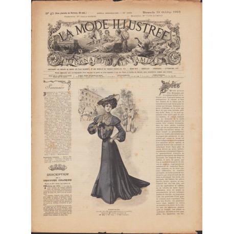 Revue complète de La Mode Illustrée 1903 N°42