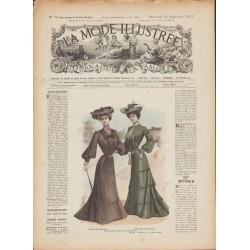 Complete magazine La Mode Illustrée 1903 N°38