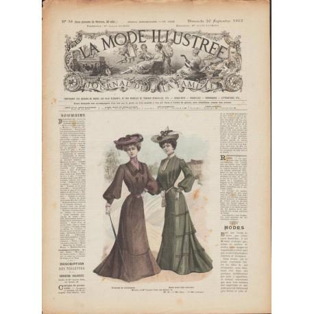 magazine La Mode Illustrée 1903 N°38