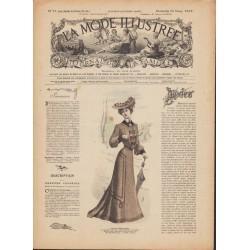 Complete magazine La Mode Illustrée 1903 N°12