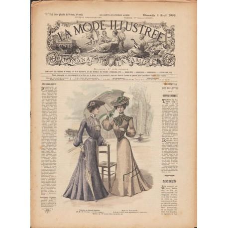 magazine La Mode Illustrée 1903 N°14