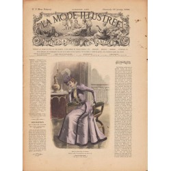 Revue complète de La Mode Illustrée 1899 N°03