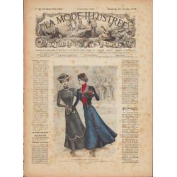 Complete magazine La Mode Illustrée 1899 N°44