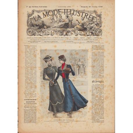 La Mode Illustrée 1899 N°44