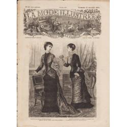 Complete magazine La Mode Illustrée 1879 N°51