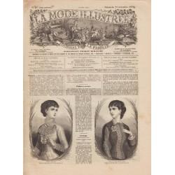 Complete magazine La Mode Illustrée 1879 N°47
