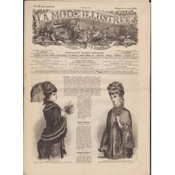 magazine La Mode Illustrée 1879 N°18