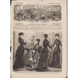Complete magazine La Mode Illustrée 1879 N°40