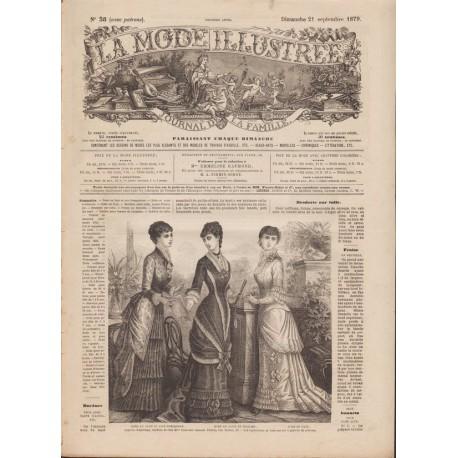 Complete magazine La Mode Illustrée 1879 N°38