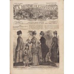 Complete magazine La Mode Illustrée 1879 N°29