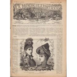 Revue complète de La Mode Illustrée 1889 N°12