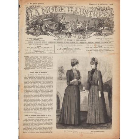 Complete magazine La Mode Illustrée 1889 N°44