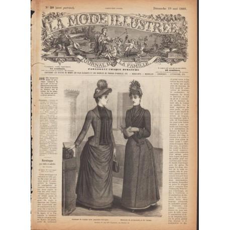 Complete magazine La Mode Illustrée 1889 N°20
